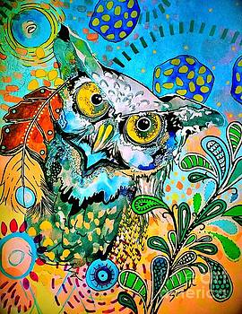 Oogke Owl by Amy Sorrell