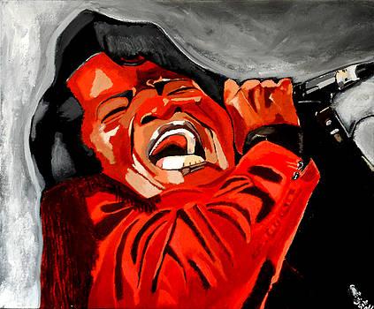 ooooww - James Brown by Saheed Fawehinmi