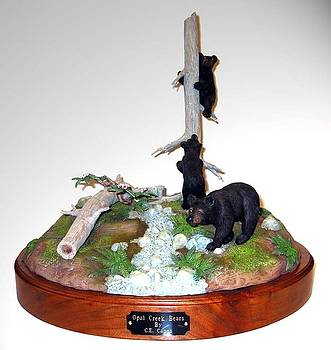 Opal Creek Bears by Carl Capps