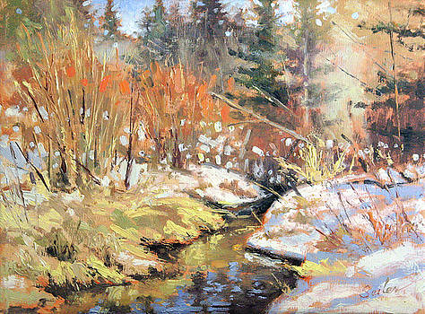 Open Creek by Larry Seiler
