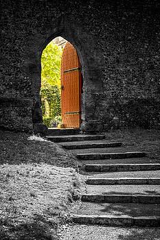 Open Door to light by Hazy Apple