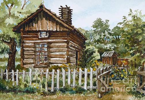 Open Gate - Littleton Historical Museum by Cheryl Emerson Adams
