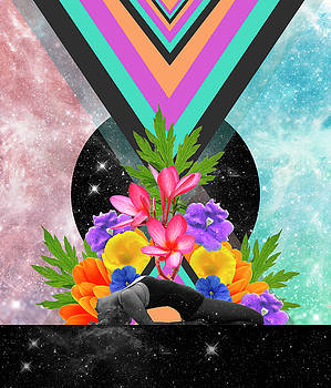Open Heart Healing plants by Lori Menna