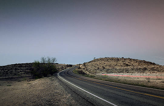 Open Road at Dawn by Justin Carrasquillo