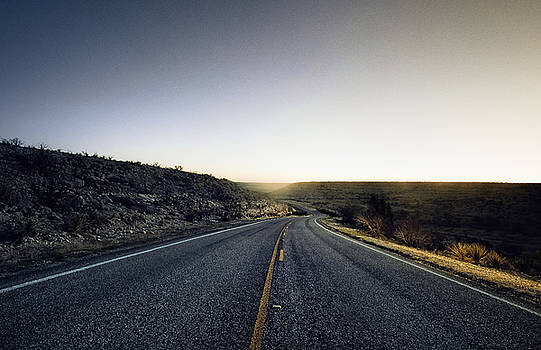 Open Road at Dusk by Justin Carrasquillo