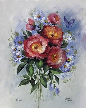 Open Roses by David Jansen