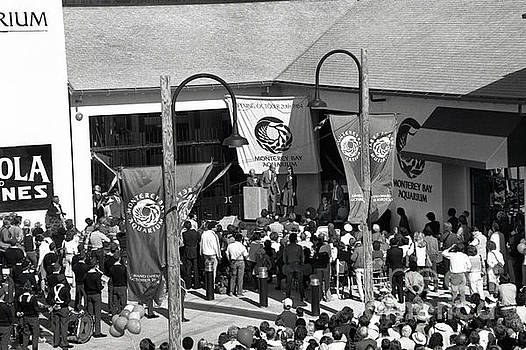 California Views Archives Mr Pat Hathaway Archives - Opening day of the Monterey Bay Aquarium  Oct. 20 1984