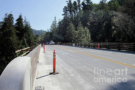 California Views Archives Mr Pat Hathaway Archives - Opening day  Pfeiffer Canyon Bridge October 13, 2017