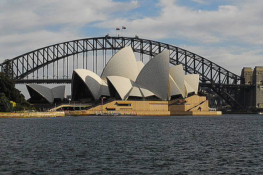 Opera House and Harbor Bridge by Al Junco