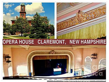 Opera House Claremont NH by Karen Francis