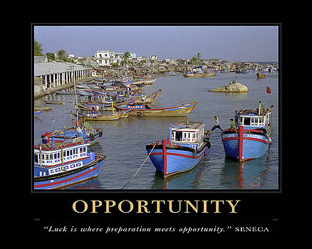 David Simchock - Opportunity Motivational Quote