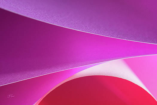 Opposite Of Origami - #1 Pink by Lori Grimmett