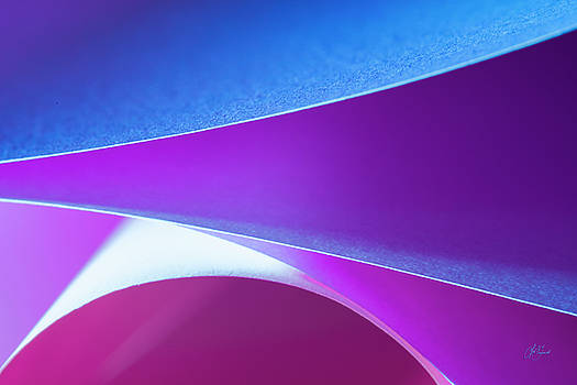 Opposite Of Origami - #2 Purple by Lori Grimmett