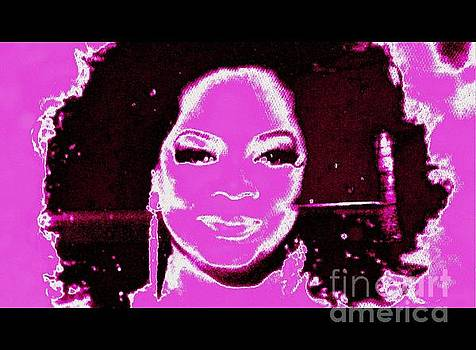 Oprah in the Pink by Richard W Linford