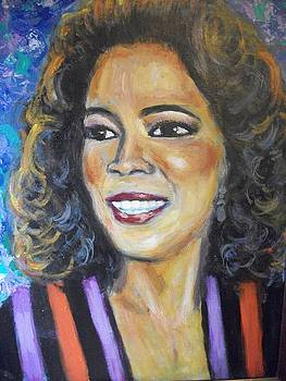 Oprah by Jan Gilmore