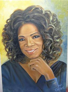 Oprah Queen of Day Time TV by Todd  Gates