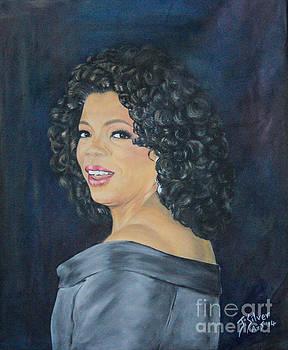 Oprah Winfrey by Jeanne Silver