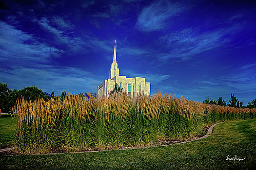 Oquirrh Mountain Temple by David Simpson