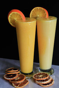 Orange and Pineapple Smoothie by Tracy Hall