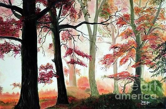 Derek Rutt - Orange Autumn