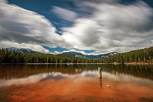 Orange Beach of Lost Lake by Pierre Leclerc Photography