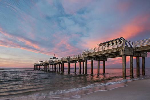 Orange Beach Sunrise by Thomas Pettengill