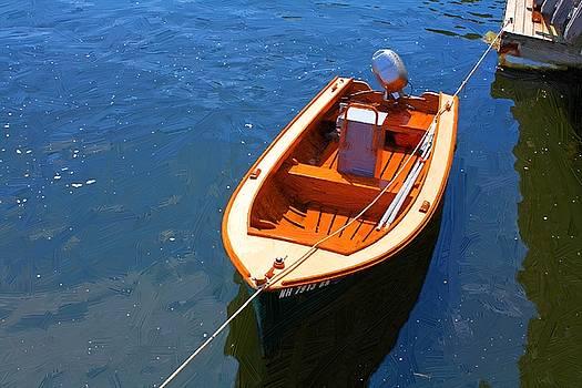 Orange Boat by John Ellis