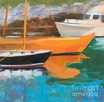 Orange Boat by Lynne Schulte