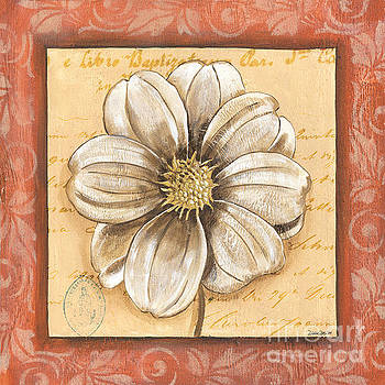 Orange Bohemian Dahlia 1 by Debbie DeWitt