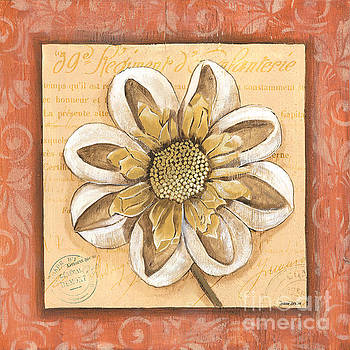 Orange Bohemian Dahlia 2 by Debbie DeWitt