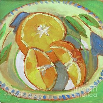 Orange Bowl by Rhett Regina Owings