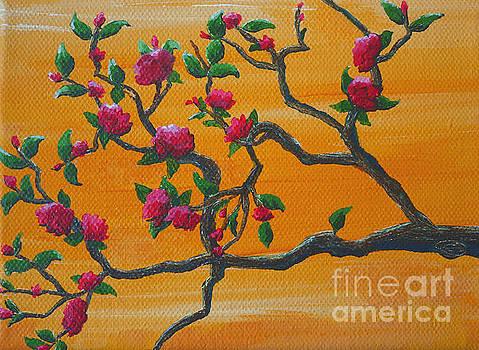Orange Branch by Julia Underwood