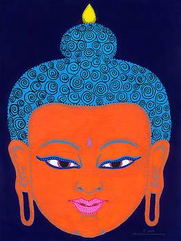 Orange Buddha by Michelle Darensbourg