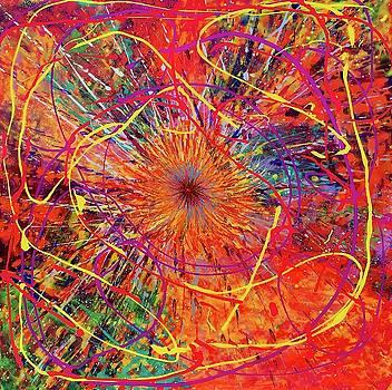 Orange Burst 16-14 by Patrick OLeary