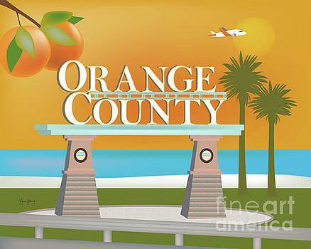 Orange County, California Horizontal Scene by Karen Young