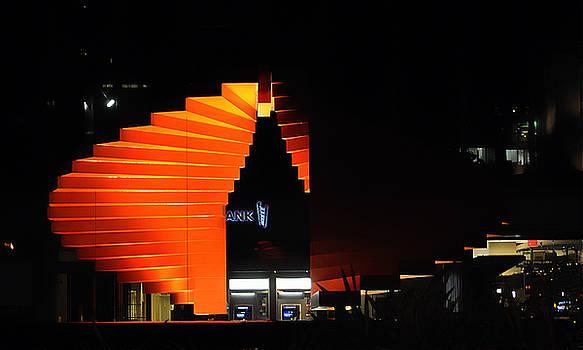 Clayton Bruster - Orange Fountain Downtown Los Angeles