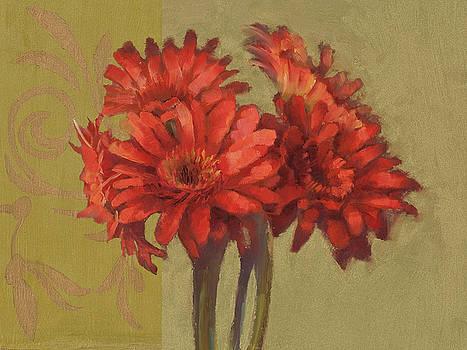 Cathy Locke - Orange Gerbers