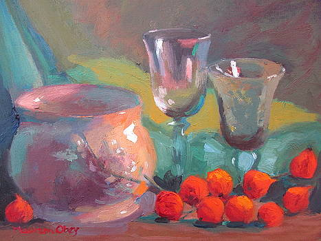Orange Glow by Maureen Obey