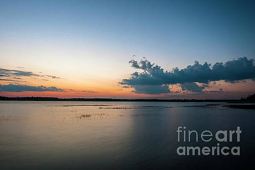 Dale Powell - Orange Glow over the Wando River