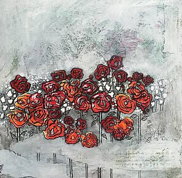Orange Haze by Donna Martin