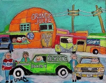 Orange Julep with Richstone Bakery by Michael Litvack