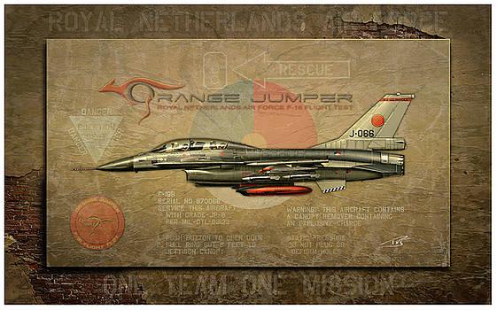 Orange Jumper Stone Profile by Peter Van Stigt