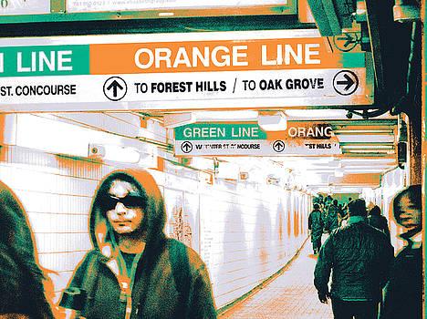 Orange Line by Shay Culligan
