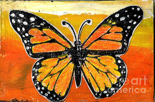 Genevieve Esson - Orange Monarch