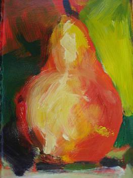Orange Pear by Susan Jenkins
