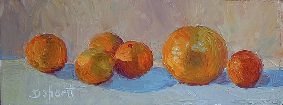 Orange Roll by Donna Shortt