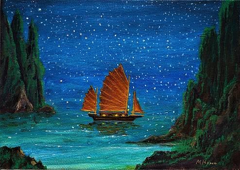 Orange Sail by Matt Konar
