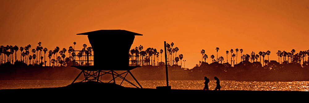 Orange Shore by Richard Hinds