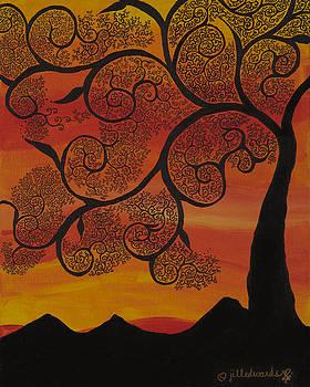 Orange Sky by Jill Kelsey