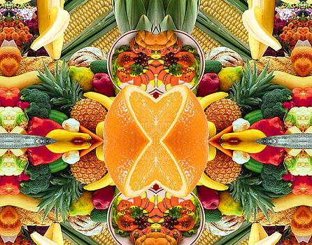 Orange Slice by Bruce Wood